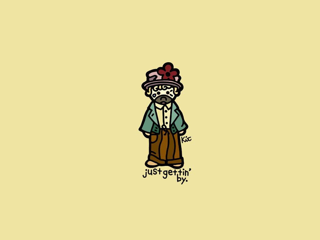 sad clown wallpaper. by kitskids on DeviantArt