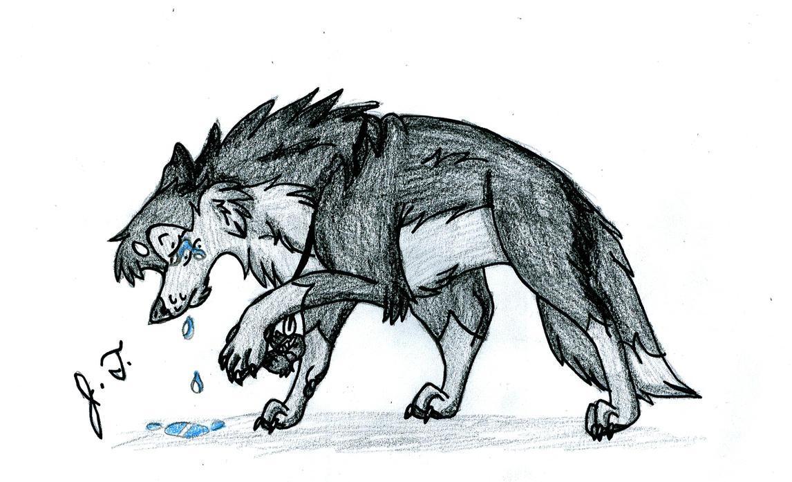 If There Is A Sad Wolf In A Pack,... By Joshbluemacaw ...