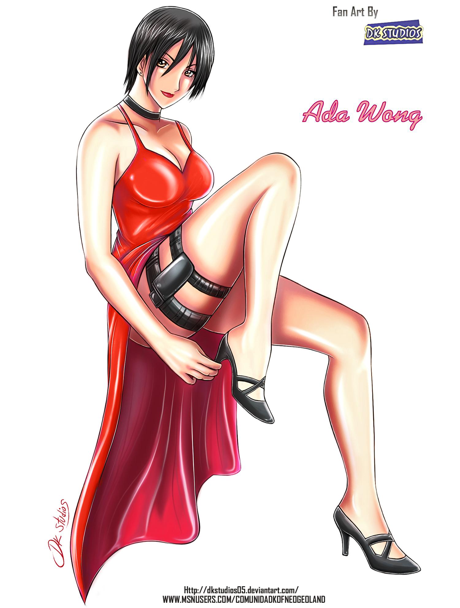 Ada Wong Sexy by DKSTUDIOS05