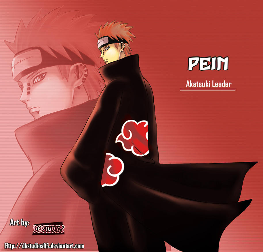 Pein __-The God-__ by DKSTUDIOS05