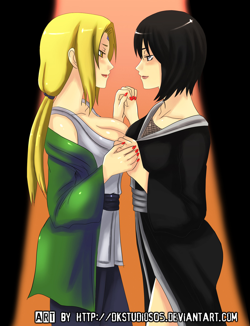 Tsunade and Shizune COMMISSION by DKSTUDIOS05 on DeviantArt