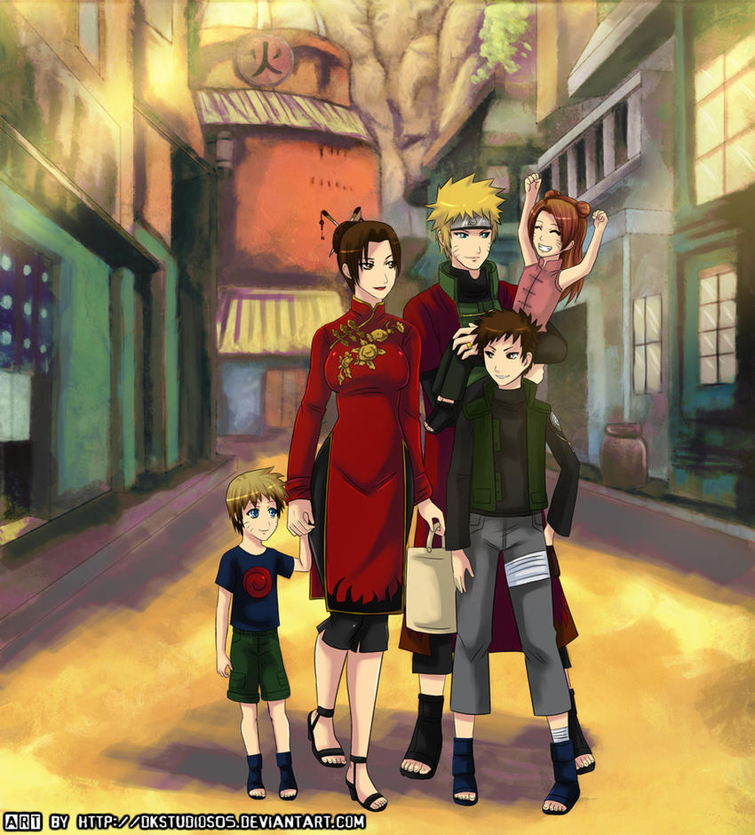 naruten family COMMISSION by DKSTUDIOS05Naruten Family