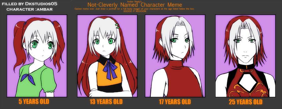 Age MEME :AMBAR by DKSTUDIOS05
