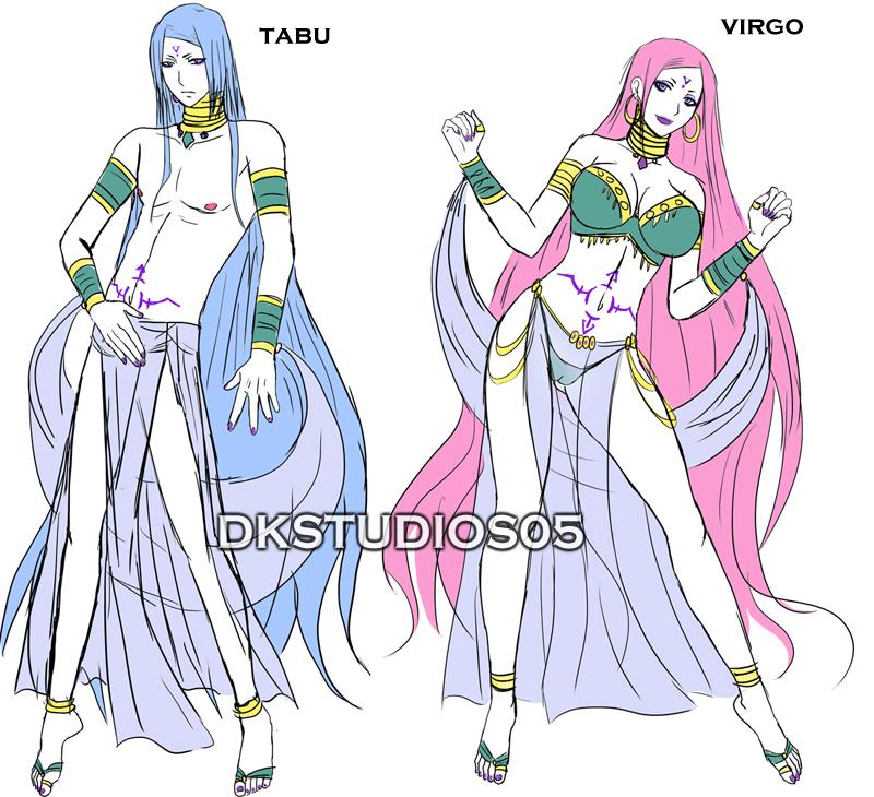 Genesis Gods Ref Sheet V1 by DKSTUDIOS05