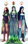 Forgotten Realms Goddess COMMISSION
