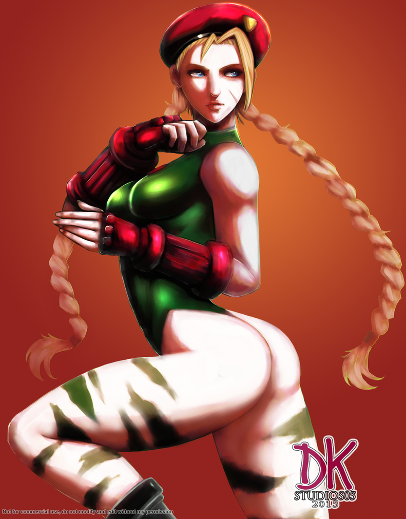 Cammy White COMMISSION by DKSTUDIOS05