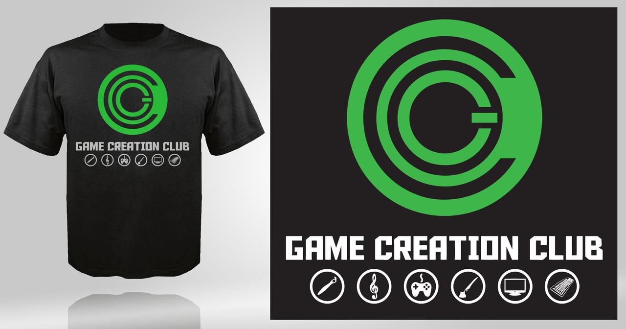 Shirt design games -  Game Creation Club T Shirt Design By Nerdysimmer