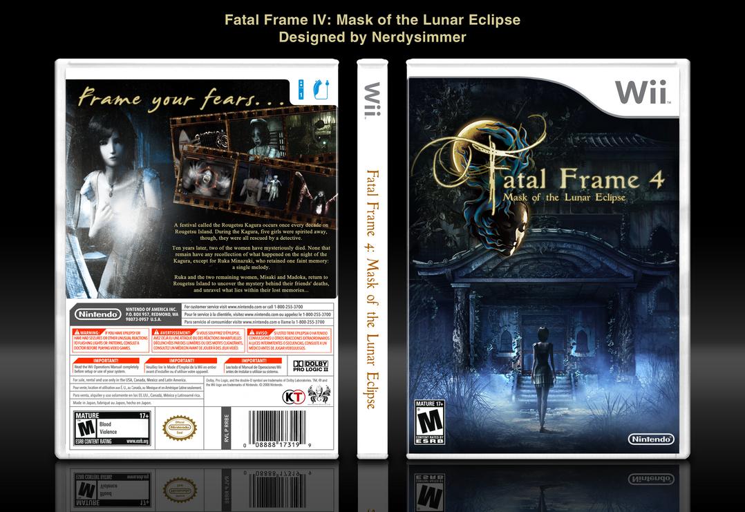 Fatal Frame IV Mask of the Lunar Eclipse boxart by NerdySimmer