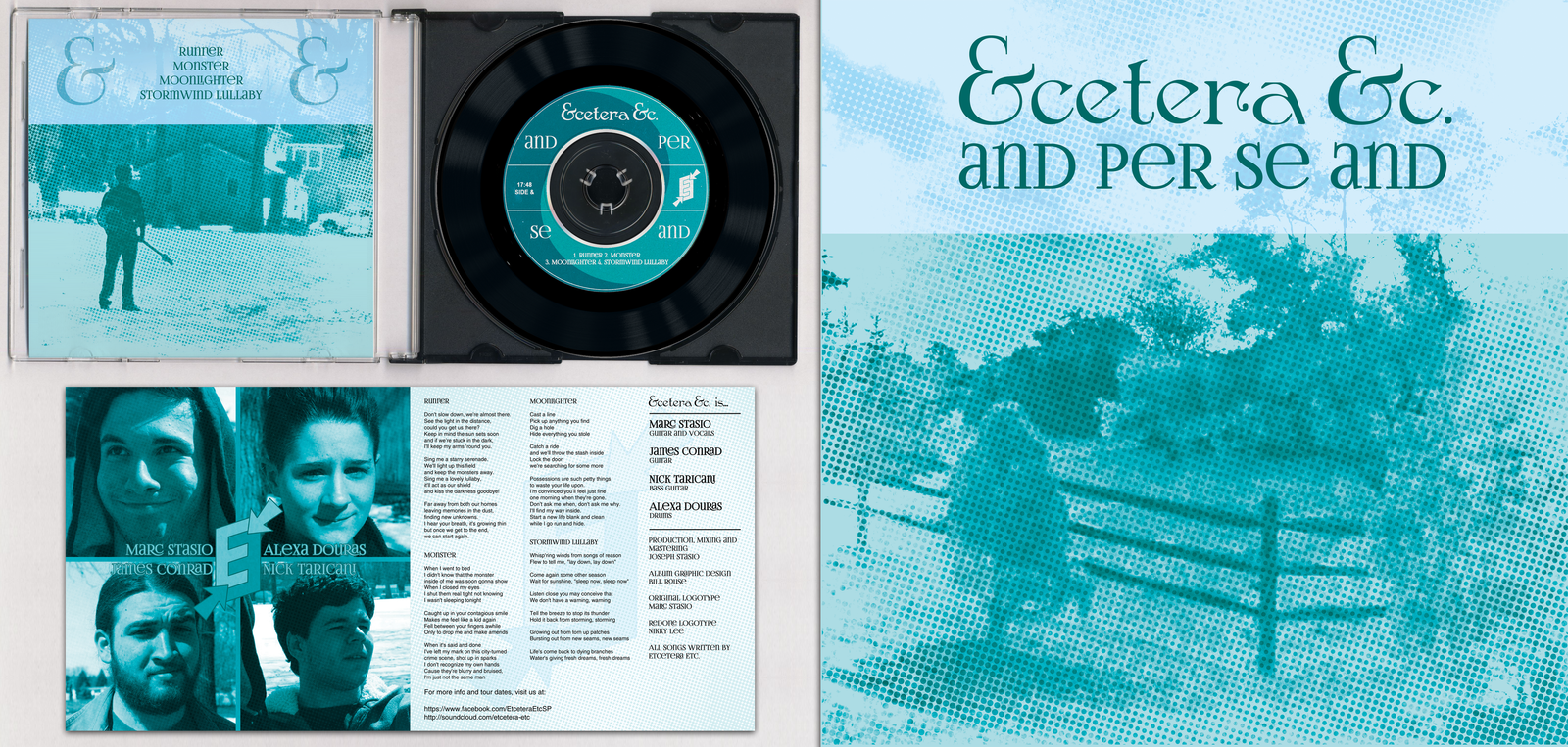 Etcetera Etc. - ''And Per Se And'' EP Cover by NerdySimmer