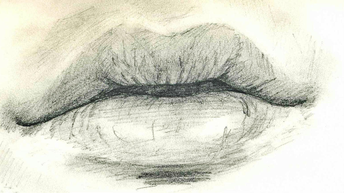 Image result for lips in love sketch