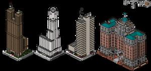 Superpolis Skyscrapers