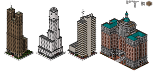 Superpolis Skyscrapers