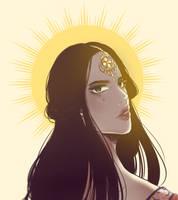 Golden Goddess by sinasobs