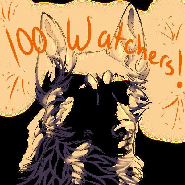 100 Watchers by GasW0lf