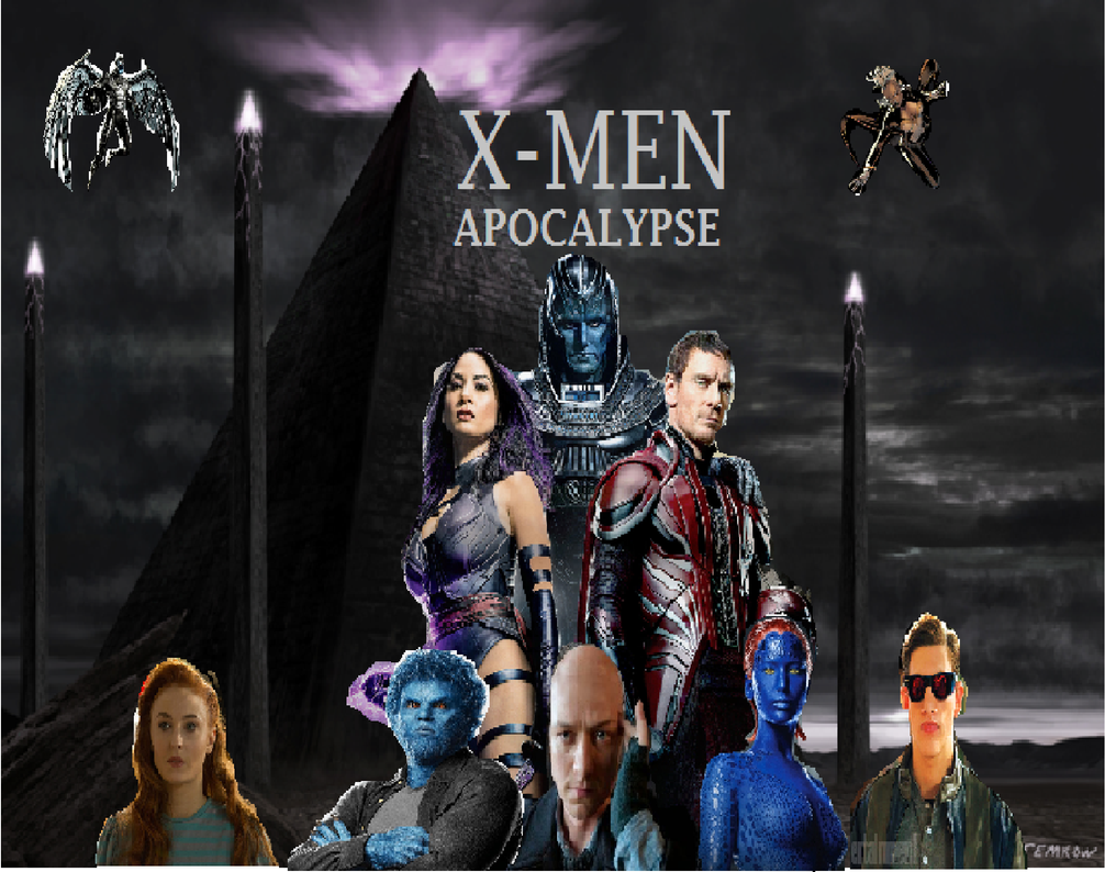 X-MEN APOCALYPSE 2016 (Fan Poster) by The-Future1 on ...