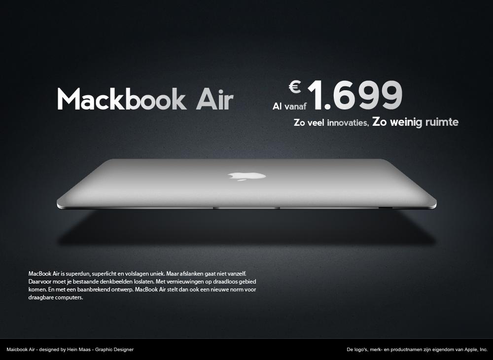 Macbook Air PSD