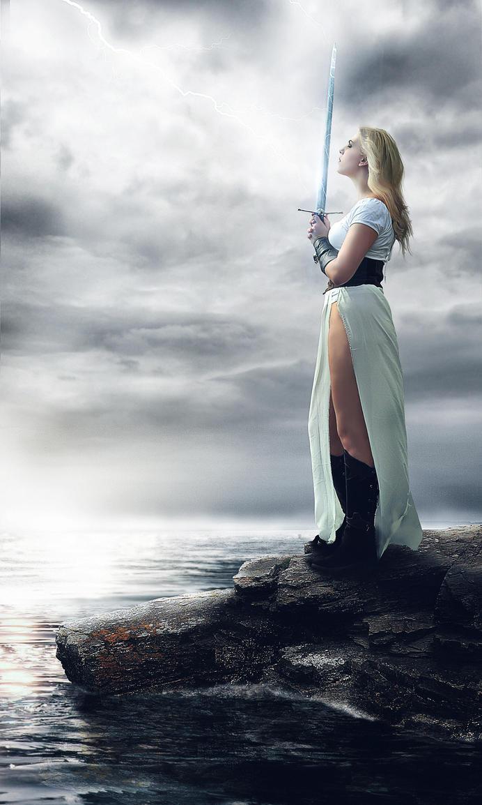 The Warrior IV by Rafaelll90
