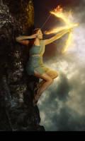 Goddess of Fire by Rafaelll90