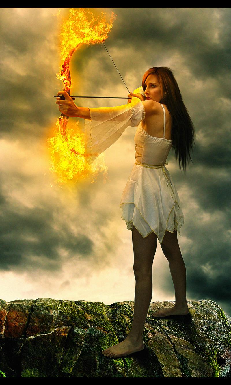 Goddess of Fire II by Rafaelll90