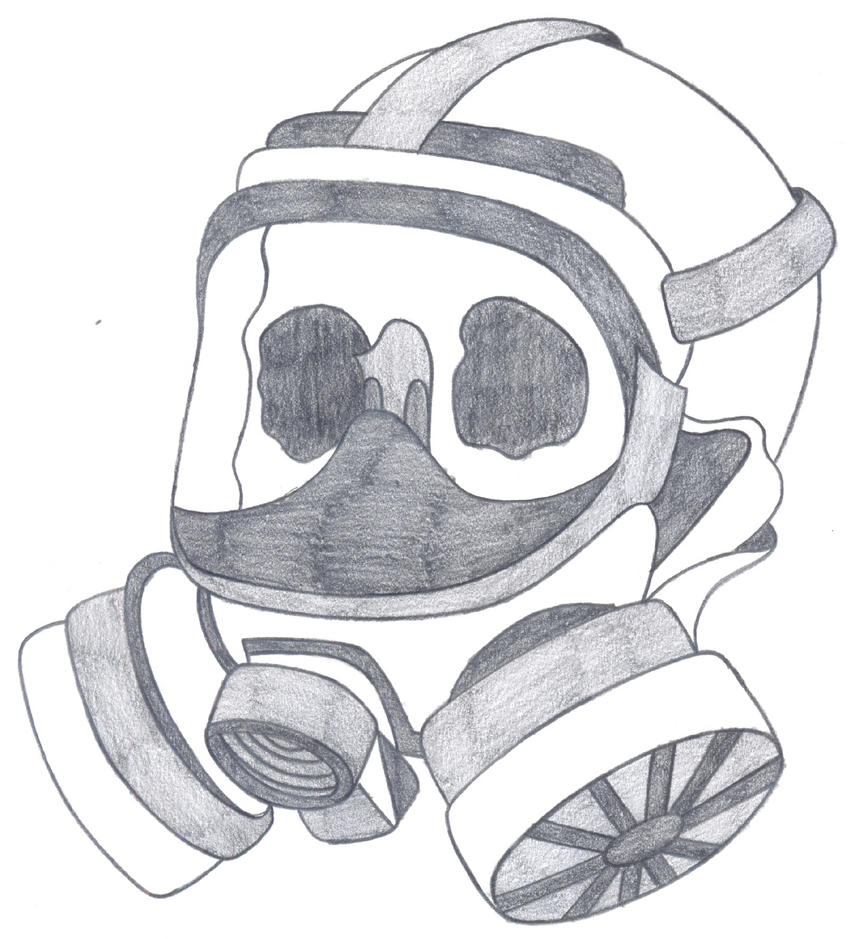 Gas Masks Drawing Skull Gas Mask Drawing Gas