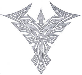 tribal phoenix by fallensamurai22