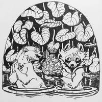 Inktober 2018 [5] Fish day by frirro