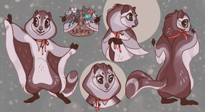 Custom character design for Whiness by frirro