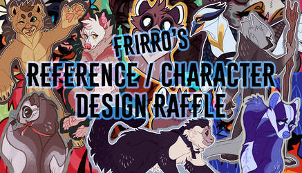 FREE REFERENCE / CHARACTER DESIGN RAFFLE - CLOSED