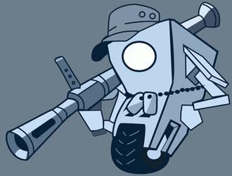 Claptrap Gun4 by jessemayberry