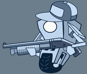 Claptrap Gun7 by jessemayberry