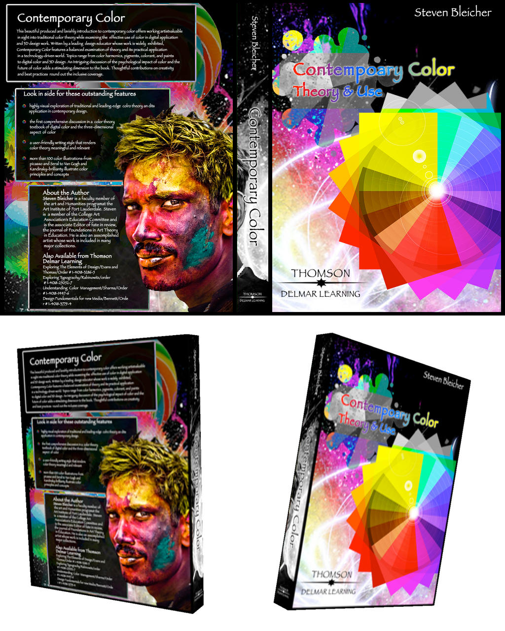Color Theory Book cover by jessemayberry on DeviantArt