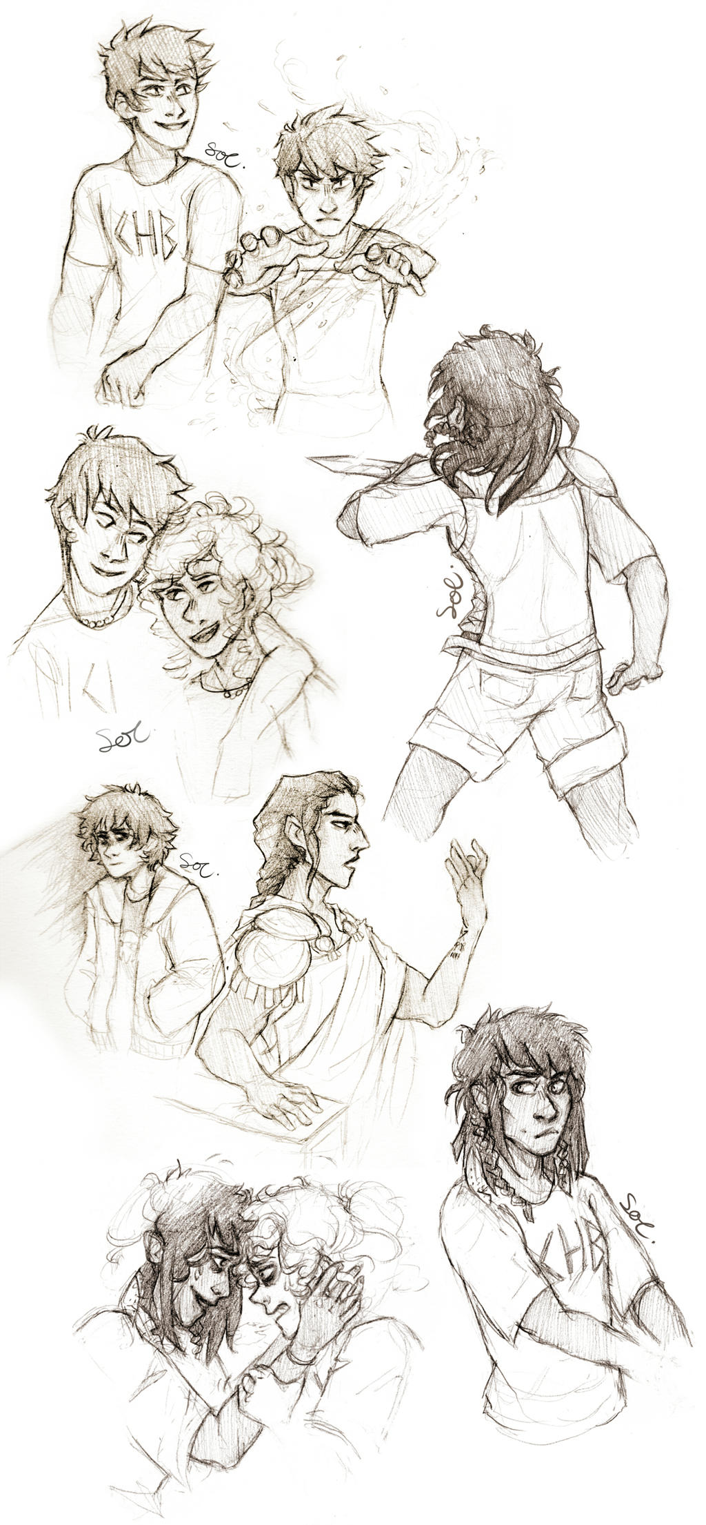 Character sketch of percy jackson