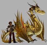 Dragons AU- Leo