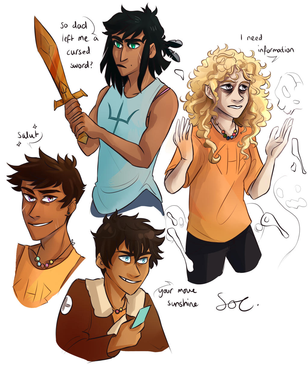 PJO Power Swap by SixofClovers on DeviantArt