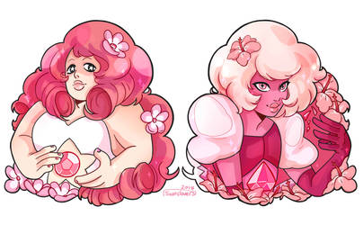 Pink Charm by SixofClovers