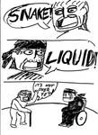Solid Snake vs. Liquid Ocelot: The real fight by Contendo64