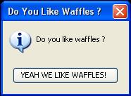 Do You Like Waffles ? by robinkissingstarfire