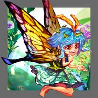 Weird Name Butterfly by takabubu
