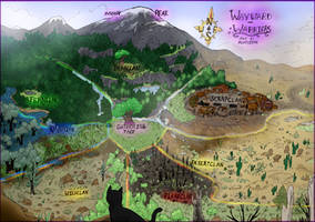 Wayward Warriors Map by Alopiidae