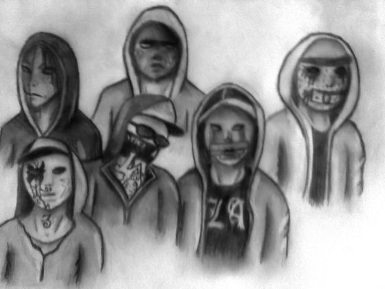 Hollywood Undead by BrokenBetrayal