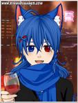 Blue Princess Fox