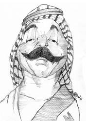 The Iron Sheik by Bardsville
