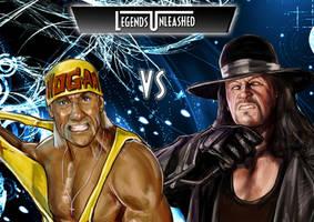 Hulk Hogan vs Undertaker by Bardsville