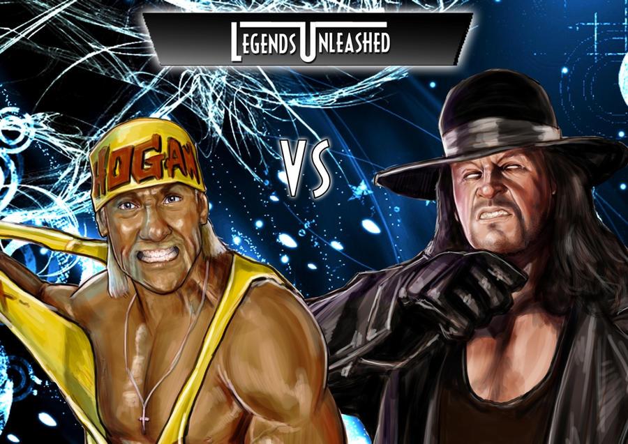 Hulk Hogan Vs Undertaker By Bardsville On DeviantArt