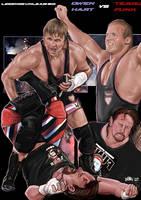 Owen Hart vs Terry Funk by Bardsville