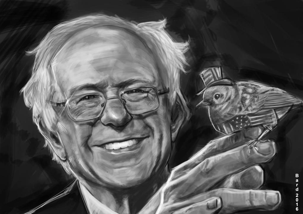 Bernie Sanders Bird it by Bardsville