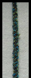 Blue and Green Boucle by putrescine