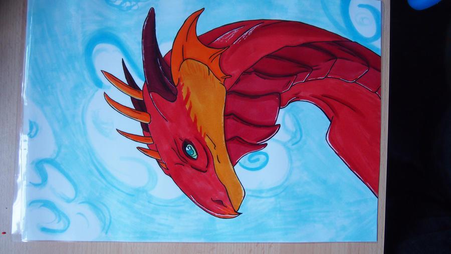 Dragon by LightBlueAngel