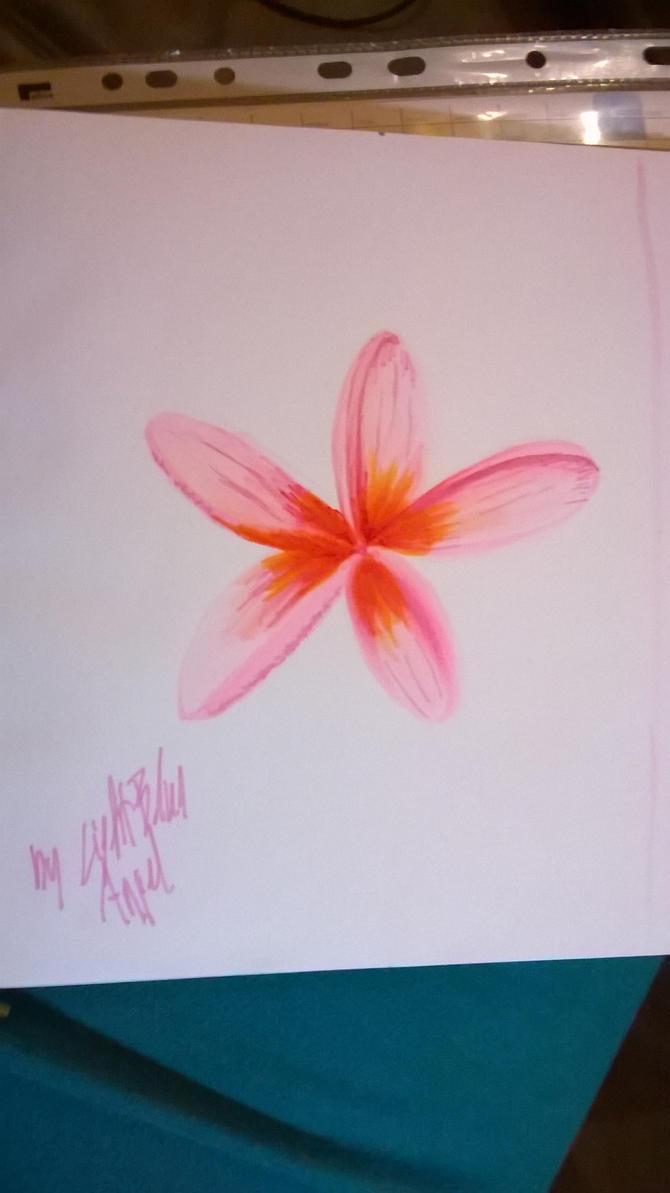 flower sketch by LightBlueAngel