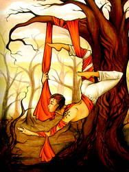 The hanged man. by Biah